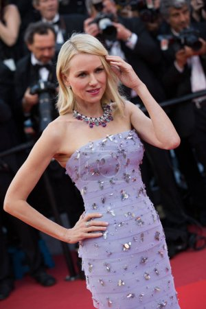 Photo for CANNES, FRANCE - MAY 11, 2016: Naomi Watts attends the 'Cafe Society' premiere and the Opening Night Gala during the 69th annual Cannes Film Festival at the Palais des Festivals - Royalty Free Image