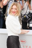 """Lea Seydoux attends the 'It's Only The End Of The World"""" photocall"""