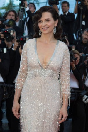 Juliette Binoche attends the 'The Last Face' premiere
