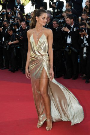 Photo for CANNES, FRANCE - MAY 20: Izabel Goulart  attends the 'The Last Face' premiere. 69th annual Cannes Film Festival at the Palais des Festivals on May 20, 2016 in Canne - Royalty Free Image