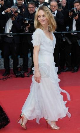 Vanessa Paradis attends the 'The Last Face'