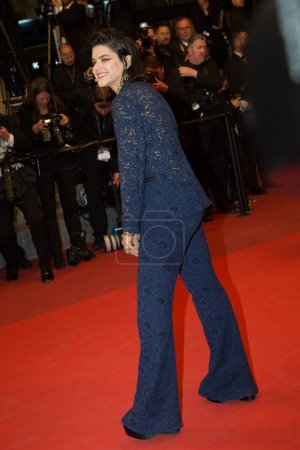 Photo for CANNES, FRANCE - MAY 19: Soko  attends the 'It's Only The End Of The World (Juste La Fin Du Monde)'  premiere during the 69th annual Cannes Film Festival at the Palais des Festivals on May 19, 2016 in Cannes - Royalty Free Image
