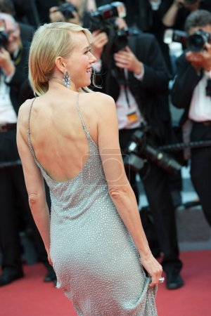 """Photo for CANNES, FRANCE - MAY 12: Naomi Watts attends the screening of """"Money Monster"""" at the annual 69th Cannes Film Festival at Palais des Festivals on May 12, 2016 in Cannes, France. - Royalty Free Image"""