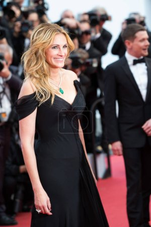 """Photo for CANNES, FRANCE - MAY 12: Julia Roberts attends the screening of """"Money Monster"""" at the annual 69th Cannes Film Festival at Palais des Festivals on May 12, 2016 in Cannes, France. - Royalty Free Image"""