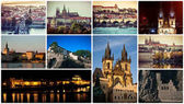 picturesque Prague sights and landscapes