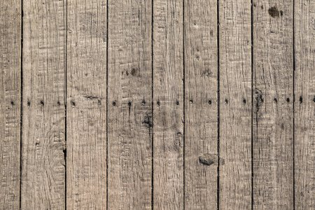 Photo for Old rough wooden planks background - Royalty Free Image