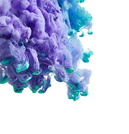 Abstract splash of paint