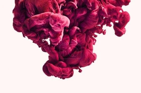 Foto de Closeup de salpicaduras de pintura colorida - Imagen libre de derechos