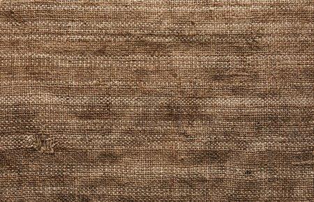 Burlap texture fabric