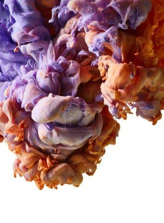 Foto de Salpicadura de pintura colorida. Fondo abstracto - Imagen libre de derechos