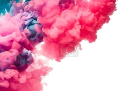 Splash of colorful paint