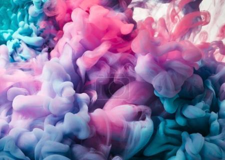 Splash of colour paint