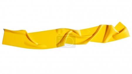 Yellow scotch tape