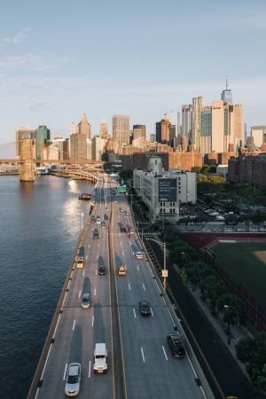 Coastal highway in New York
