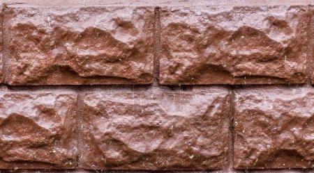Photo pour Mur avec une vieille brique de couleur. maquette - image libre de droit