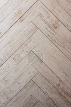 Foto de Parquet de madera. El suelo de. - Imagen libre de derechos