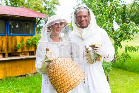 Beekeeper team working
