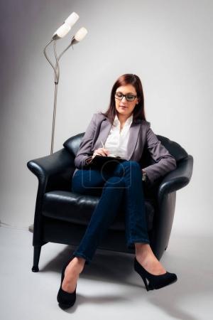 Female Psychologist Listening