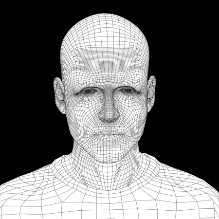 young human  head
