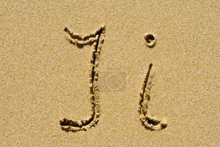 Golden sand letter