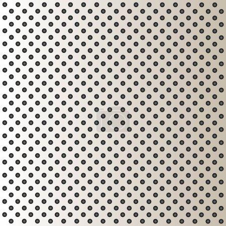 Aluminum perforated pattern