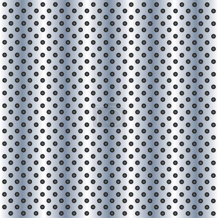 perforated pattern texture