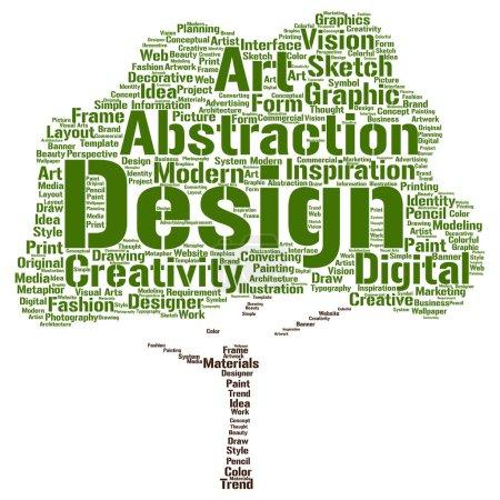 Art graphic design tree