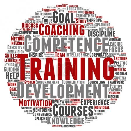 training, coaching or learning