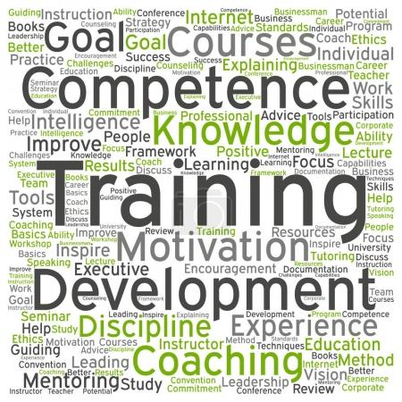 training, coaching or learning concept