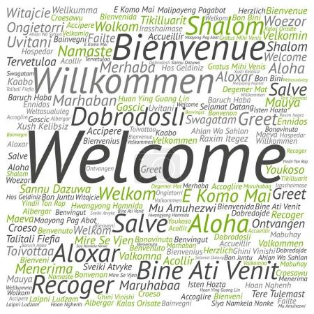 international  greeting concept