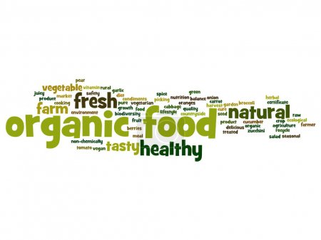 organic healthy food concept