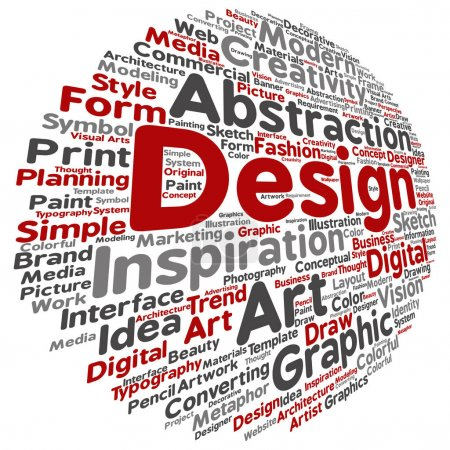 design word cloud