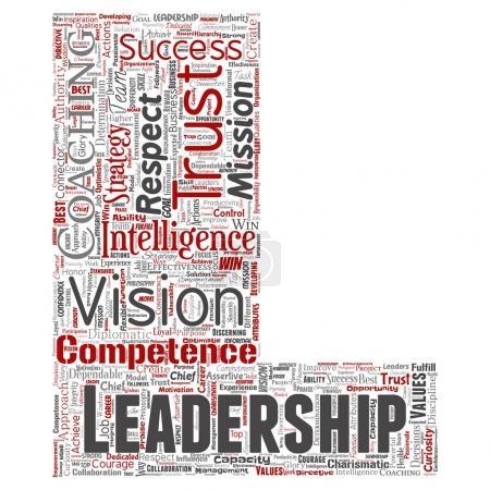leadership strategy,  word cloud