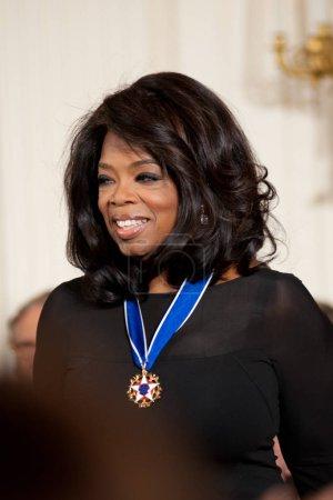Oprah Winfrey at the White