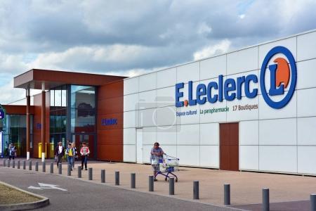 French Leclerc Hypermarket
