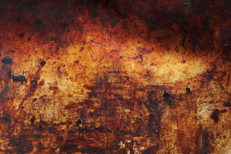metal rusty background