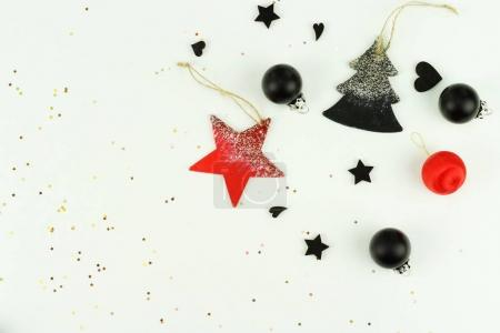 christmas background. creative abstract composition