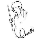 India background for Gandhi Jayanti