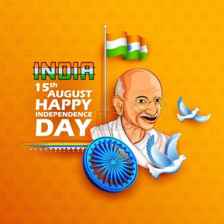 Триколор Индии фон с Нации