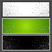 Set of horizontal banners - 02