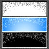 Set of horizontal banners - 04