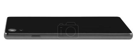 Tablet black modern back flat