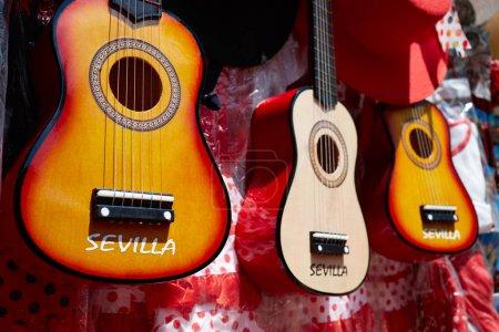 Seville souvenir spanish guitar Andalusia Spain
