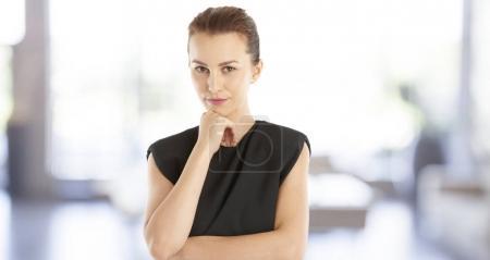 Young confident businesswoman portrait