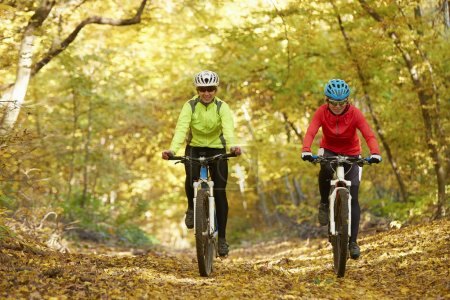 Two female cyclists