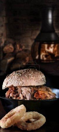 Pulled BBQ Pork Roll