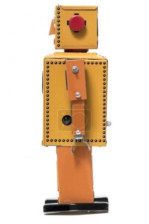 Vintage tin robot toy