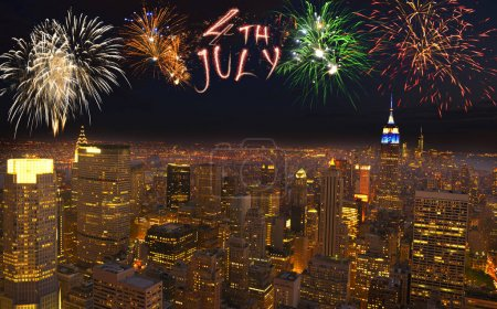 Celebrating Indipendence Day in New York City