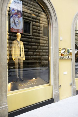 Gucci fashion store in Florence