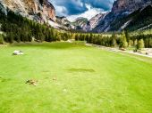 panorama of the Italian Alps